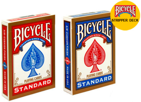 Карты Bicycle Stripper Deck - конусная колода