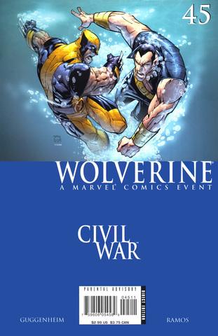Civil War: Wolverine #45