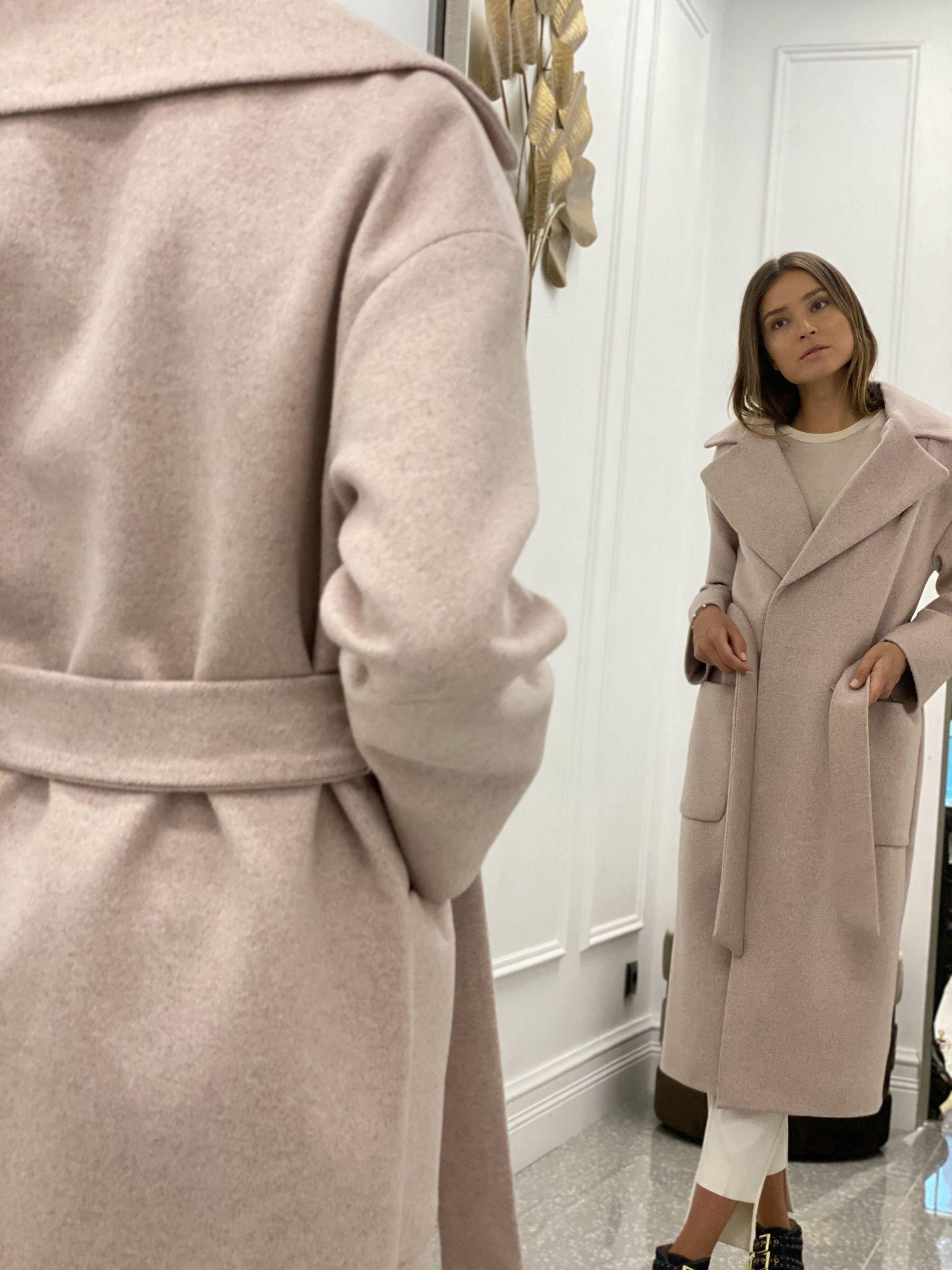 Пальто, Ballerina, RIGA (розовый)