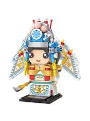Конструктор LOZ mini Актер Пекинской оперы 324 детали NO. 1542 Beijing actor MiniBlock