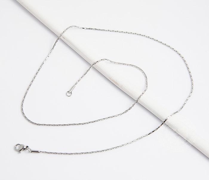 SSNH-0188Оригинальная мужская цепочка «Spikes» из ювелирной стали (55 см) фото 02