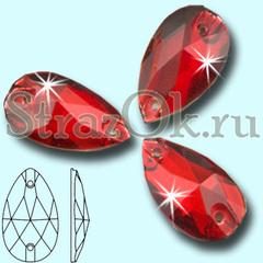 Выберите стразы пришивные Drope Siam, Капля Сиам красные на StrazOK.ru