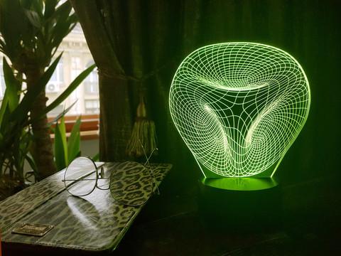 Лампа Абстракция 11