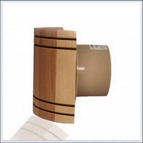 Накладной вентилятор MMotors JSC MM-S 100 с обратным клапаном бочка (12V) (для бань и саун)