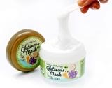 Ночная крем-маска для лица с 80% муцином слизи улитки Milky Piggy Glutinous 80% Mask Snail Cream Elizavecca