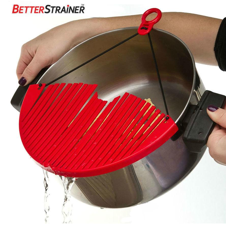 Кухонные принадлежности и аксессуары Универсальный дуршлаг-накладка для слива воды Better Strainer fcfdf80ef5872a00cea29149a2dc376f.jpg