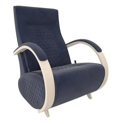 Кресло-глайдер Balance Balance-3 с накладками, дуб шампань/Verona Denim Blue, 014.003