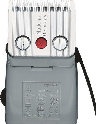 Машинка для стрижки Moser 1400 Edition, сетевая, 1 насадка, 10 Вт, синяя