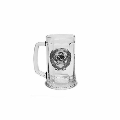 Коллекционная пивная подарочная кружка «Советская», 500 мл