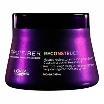 L'Oreal Professionnel Pro Fiber: Маска для восстановления очень сильно поврежденных волос (Reconstruct Masque), 710мл