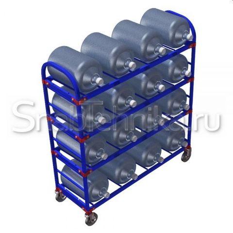 Тележка для перевозки баллонов для воды. ТСВД 16 160-Ч