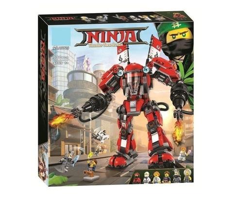 Конструктор Ninja 10720 Огненный робот Кая