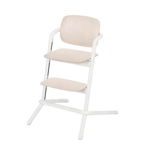 Стульчик Cybex Lemo Wood Porcelaine White