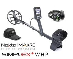 Металлоискатель Nokta Makro Simplex + WHP + Pulse Dive Pointer