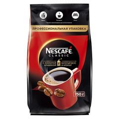 Кофе растворимый Nescafe Classic 750 г (пакет)