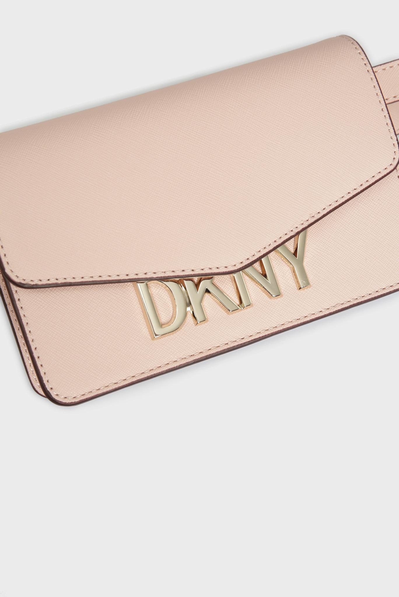 Женская розовая поясная сумка PENELOPE DKNY
