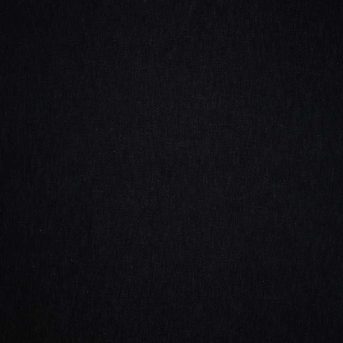 Хлопковый джинс из чернильных и молочных нитей