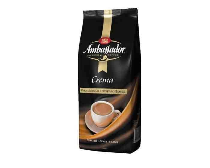 Кофе в зернах Ambassador Crema