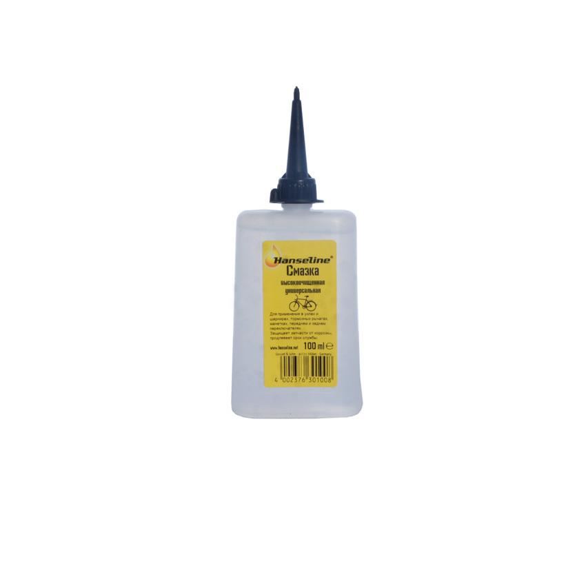 Hanseline GREASE смазка универсальная для механических деталей 100 мл