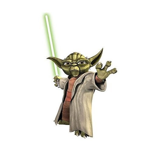 Star Wars Yoda Peel & Stick Wall Decals