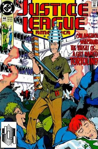 Justice League America #44