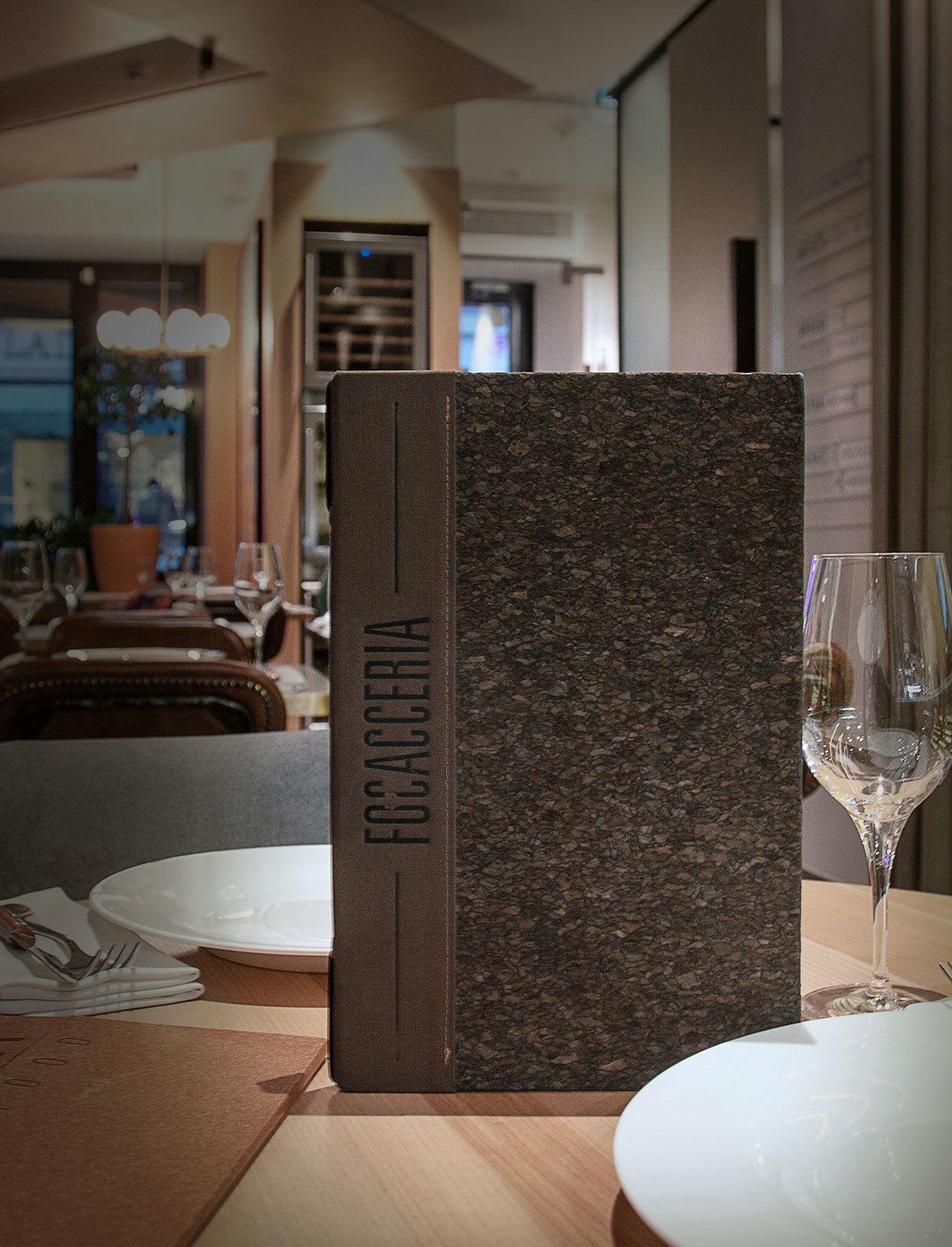 Папка меню и барная карта для Focacerria