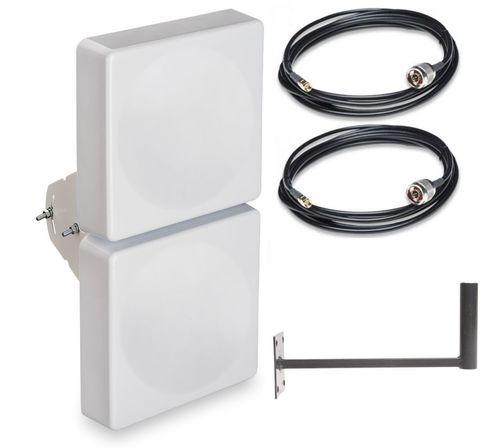 Антенный комплект с антенной для LTE роутеров Дача-Р-Универс-15db