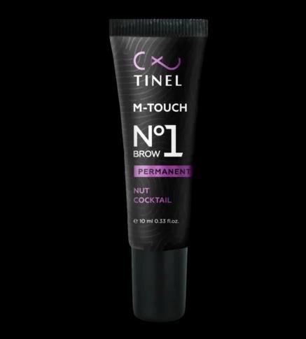 """Пигмент для бровей  Tinel M-touch 1 """"Ореховый коктейль"""" 10мл"""