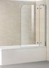 Стеклянная шторка на ванну Welt-Wasser WW 100D2 100
