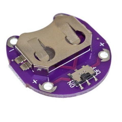 Купить  Держатель батареи CR2032 для Arduino Lilypad.