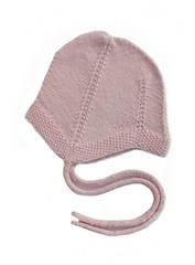 Шапка с завязками RinKa studio, розовый