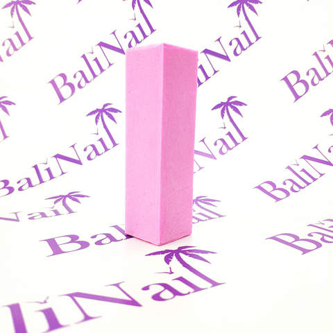 Бафик для натуральных ногтей, розовый 180