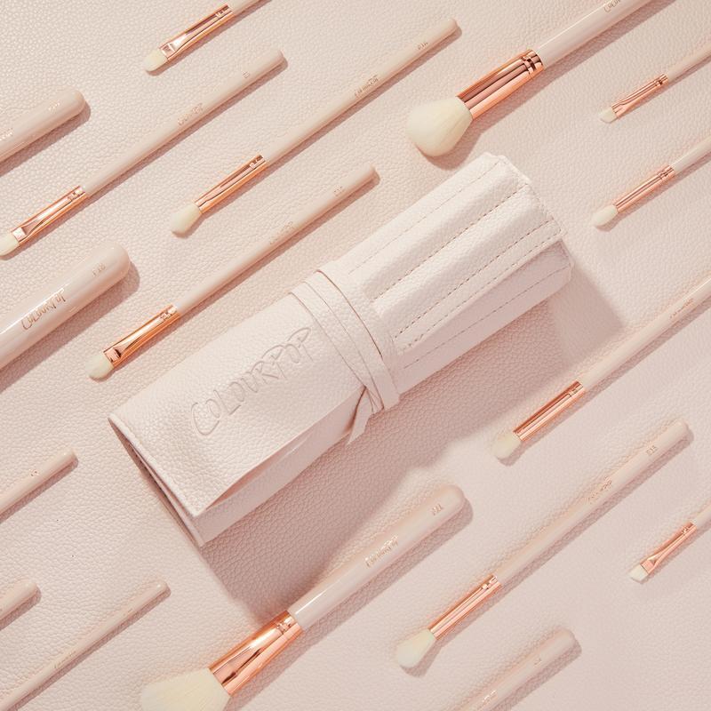 ColourPop Ultimate Brush Roll brush set