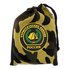 Фляжка в чехле «Туристические войска» 180 мл, фото 4