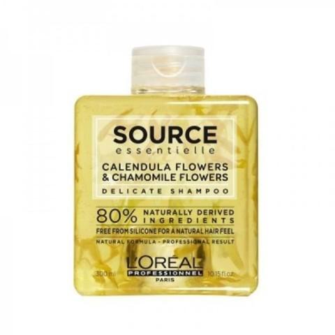 L'Oreal Professionnel Source Essentielle: Шампунь для чувствительной кожи головы (All-Soft Delicate Shampoo), 1.5л