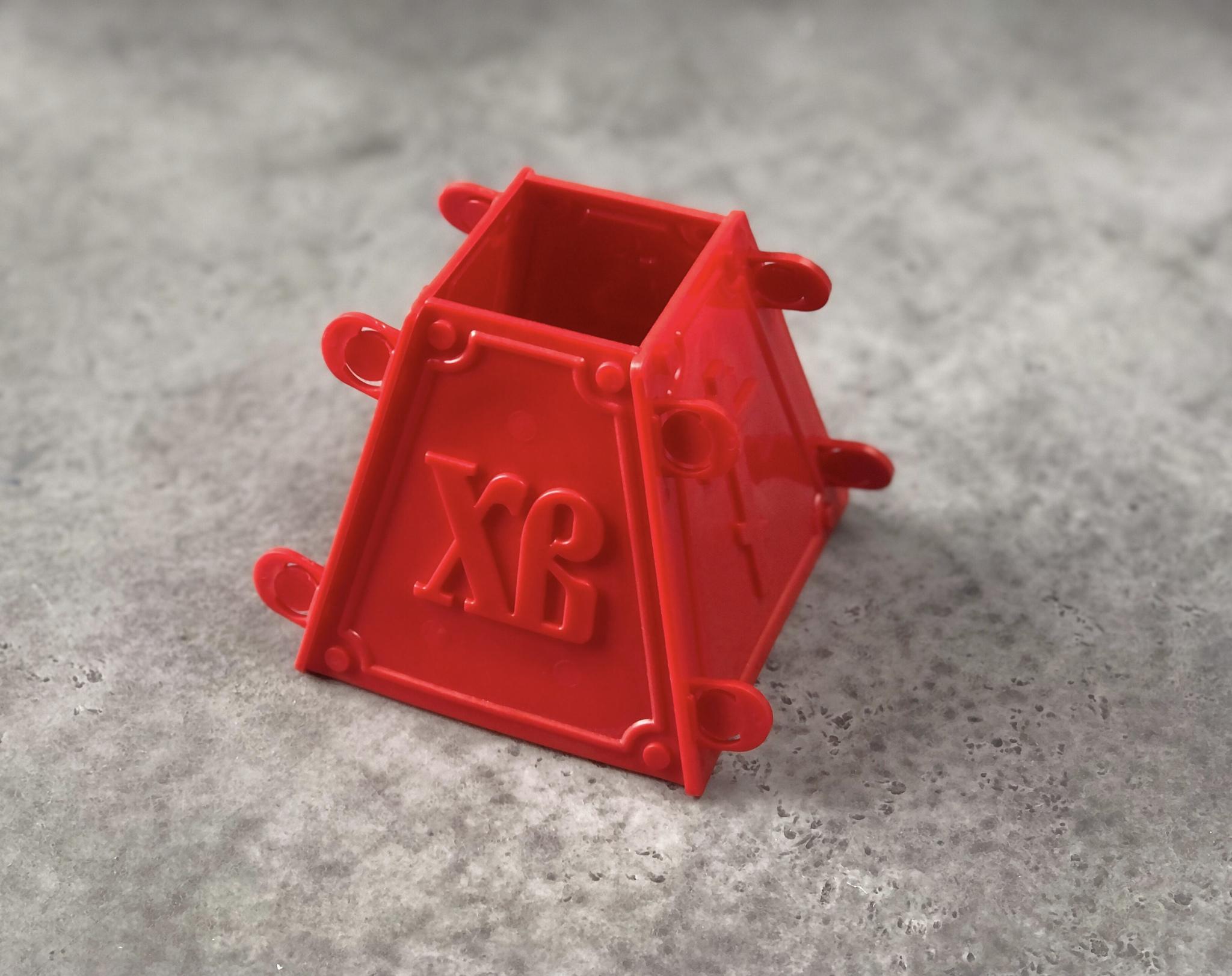 Форма пластиковая для творожной пасхи (пасочница), 0,9 кг