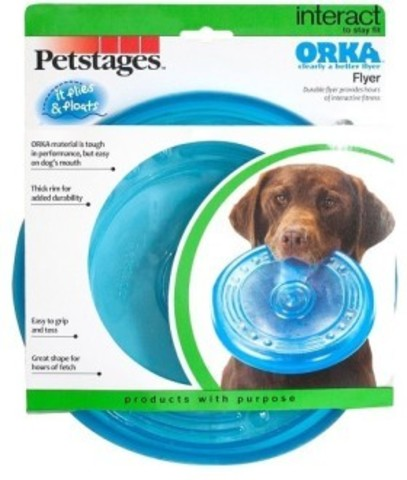 PETSTAGES ORKA FLYING SAUCER