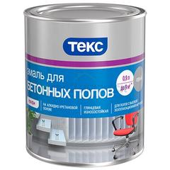 Эмаль Текс ПРОФИ для бетонных полов светло-серая, 0,9 л