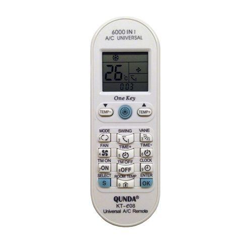 Пульт для кондиционера QUNDA KT-E08, белый