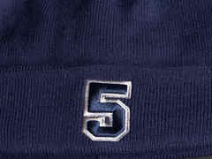 Шапка №5 синяя