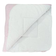 Папитто. Конверт-одеяло велюр с вышивкой, розовый вид 2