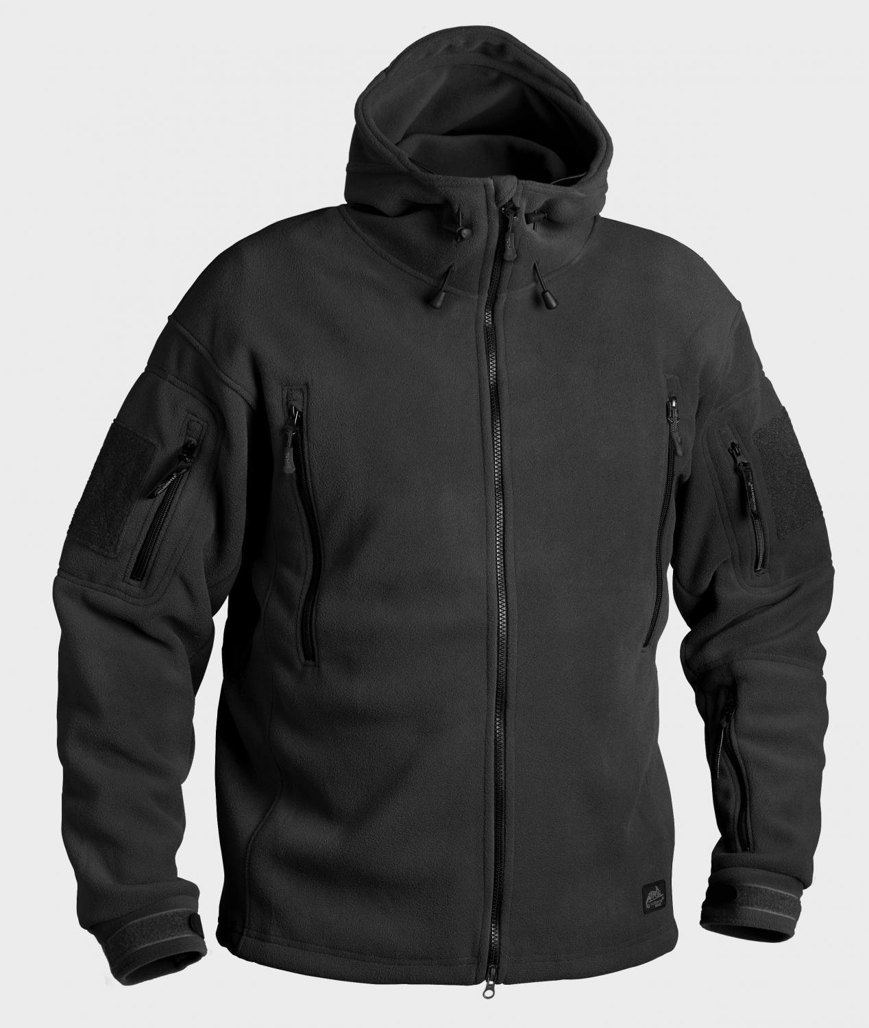 Куртка флис Helikon PATRIOT Jacket - Double Fleece - Black