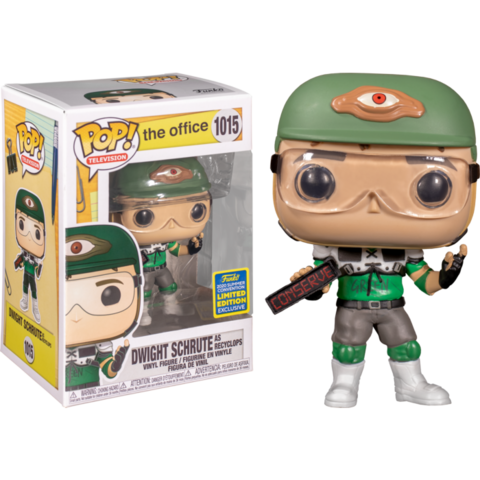 Фигурка Funko Pop! TV: The Office - Dwight Schrute as Recyclops (Excl. to San Diego Comic Con)