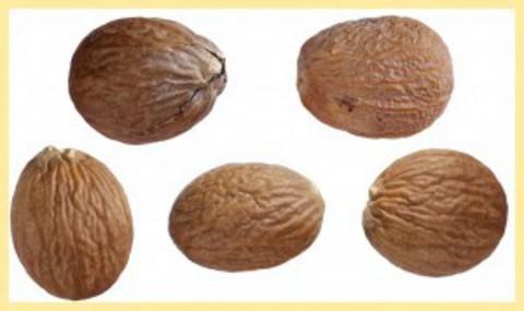 Мускатный орех целый