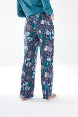 Довгі сині штани, створені спільно з Coordonné