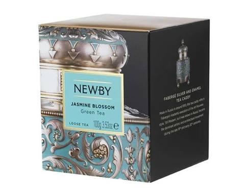 Чай зеленый листовой Newby Heritage Jasmine blossom, 100 г