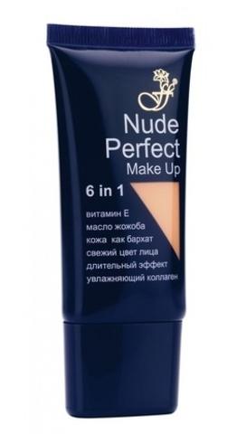 Ffleur Тональная основа под макияж NUDE PERFECT (тона 1-4)  FT-17