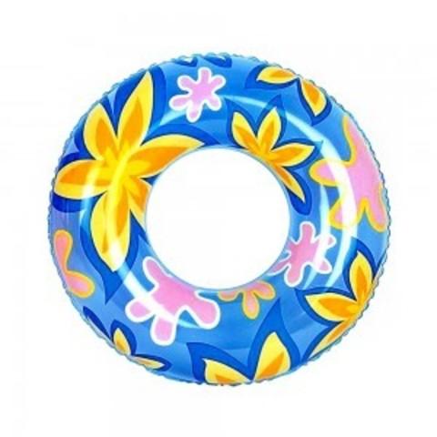 Круг надувной д/плавания Дизайнерский 76см 36057 Цветок 36057B