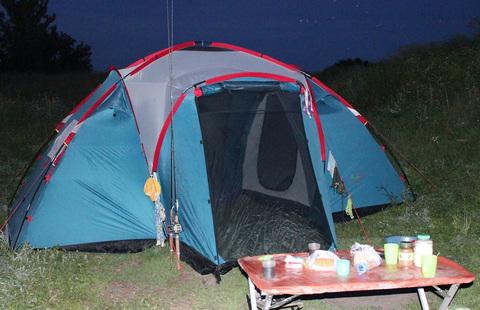 Палатка Canadian Camper SANA 4 PLUS, цвет royal, фото счастливых обладателей.