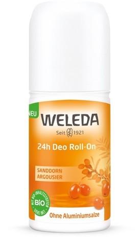 Weleda, Облепиховый дезодорант 24 часа Roll-On, 50мл